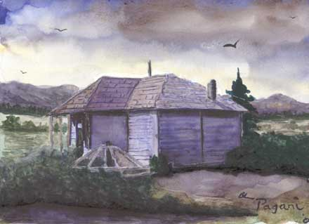Camp Creek School Painting