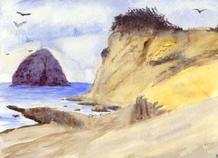 Cape Kiwanda and Haystack Rock